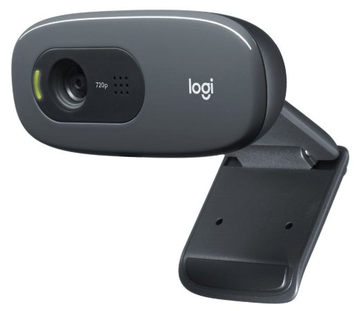 Webcam Logitech  Hd C270 com Microfone 720P USB