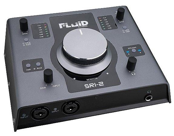 Interface de audio FLUID SRI-2 sri2 controlador de monitor