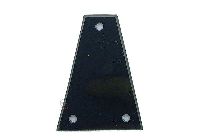Escudo de tensor medidas 44,4x32,6x12,4 mm guitarra ou baixo