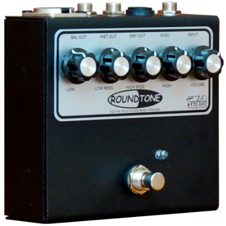 Pedal Preamp baixo bass drive Trefilio Roundtone Direct Box