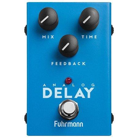 Pedal Analog Delay Fuhrmann de guitarra - NF 1 ano garantia
