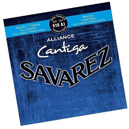 Encordoamento violão nylon Savarez 510AJ Cantiga Alliance