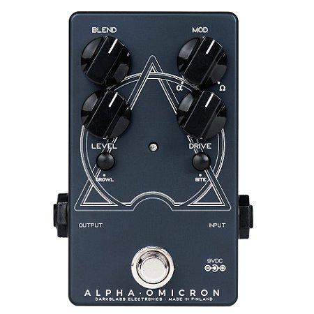 Pedal p/ baixo ALPHA OMICRON - Darkglass - Preamp/Distortion