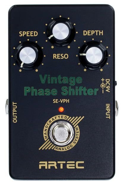 Pedal efeito Vintage Phase Shifter ARTEC SE-VPH / phaser True Bypass