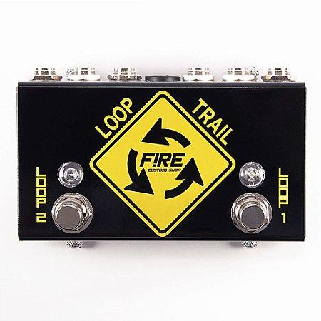 Pedal seletor de canais loop trail FIRE custom-line selector