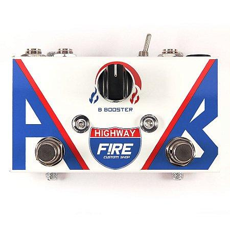 Pedal AB Box highway/booster FIRE custom- 5 anos de garantia