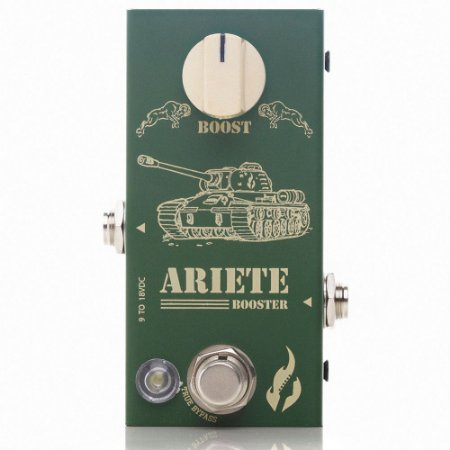 Pedal Fire Custom ariete booster guitarra 5 anos de garantia