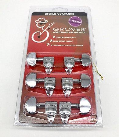 Tarraxa c/ Trava Grover Rotomatic 3x3 Chrome 18:1 -Orig 106C
