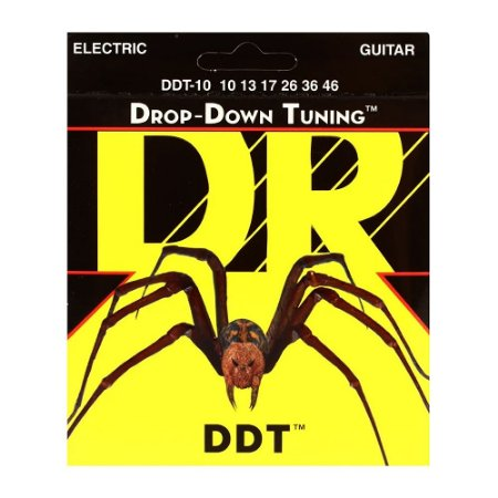 Encordoamento guitarra 010 DR STRINGS - DDT 10 Drop Down