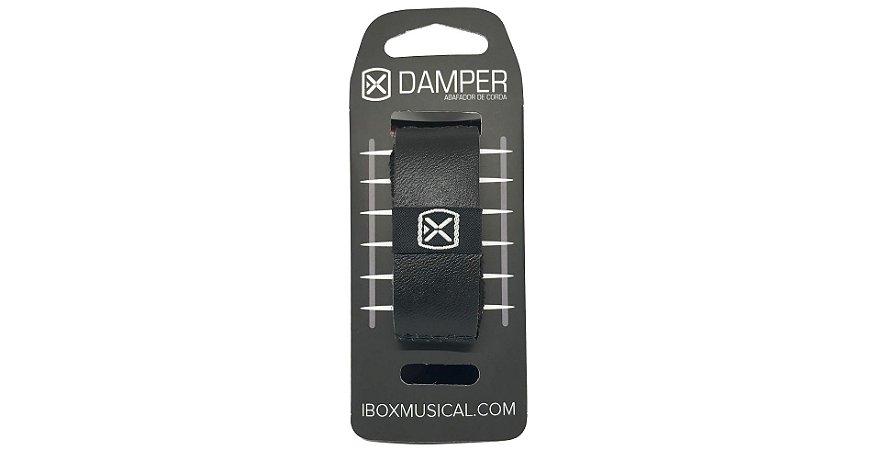 abafador de cordas Ibox damper preto SM pequeno