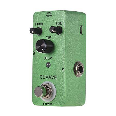 Pedal guitarra DELAY CLASSIC  CUVAVE - mini ECHO - amoon nux