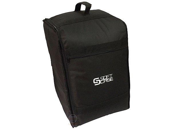 Bag Capa Soft Case Cajon Inclinado Almofadado Luxo Em Estoqu