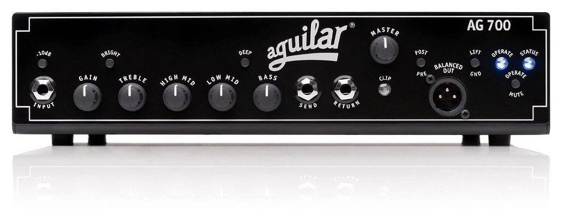Cabeçote Amp De Baixo Aguilar Ag 700 - 700 Watts - Novo Nf!!