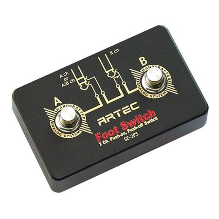 Pedal Foot Switch 2 canais Artec Se-2FS p/ amplificador