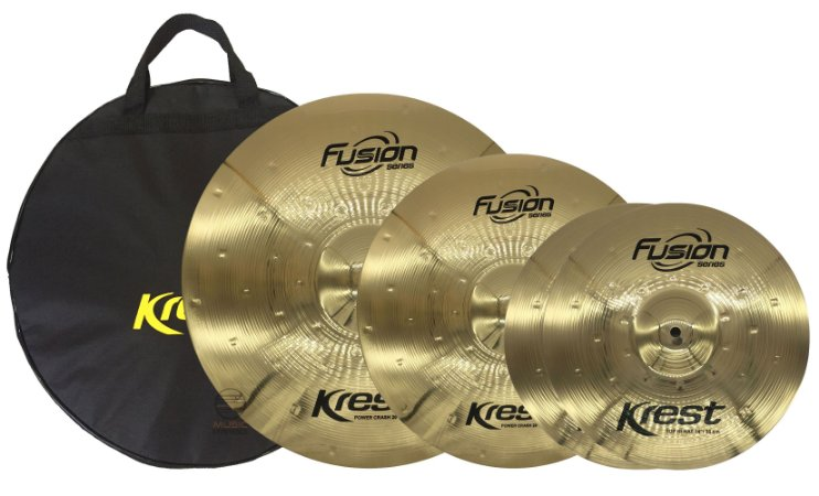 Kit set prato bronze Krest 13 16 20 c/ bag fusion FSET4