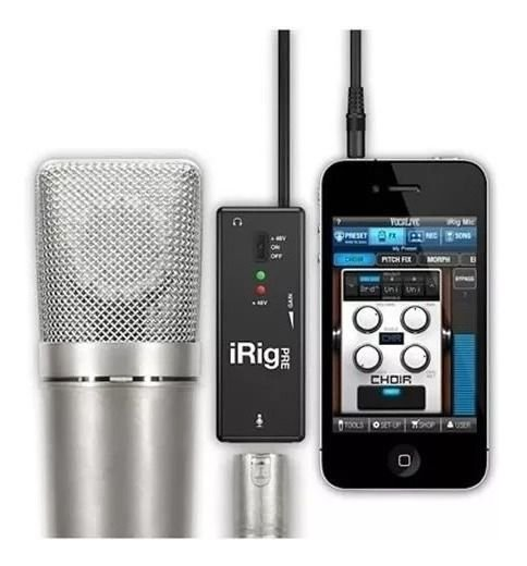 Interface Microfone Irig Pre Ik Multimedia