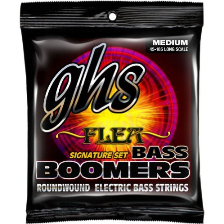 Encordoamento baixo 4 cordas 045 GHS FLEA M3045F BOOMERS