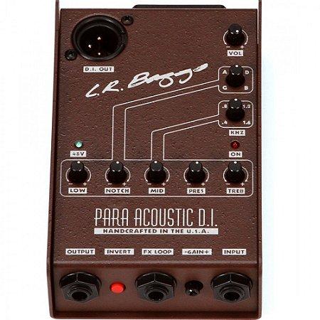 Pedal LR BAGGS PARA DI direct box EQ para acoustico violao