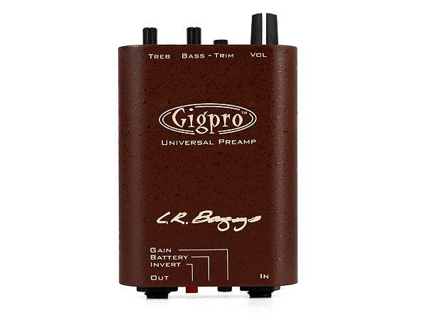Preamp LR BAGGS Gigpro 1 canal portatil de cinto com EQ