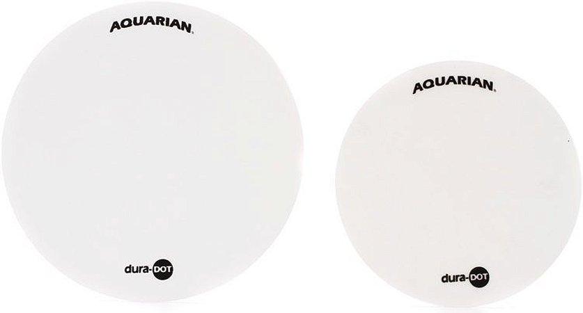 """Adesivos Aquarian DuraDOT 4,5"""" e 5,5"""" P/ Pele Caixa ou Tom"""