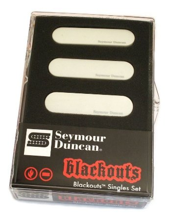 Captador Blackouts Seymour Duncan Single Set branco AS-1S