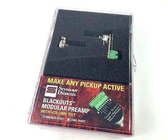 Preamp Seymour Duncan Blackouts Modular Bmp + 1 Pot Volume