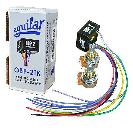 Kit Circuito Aguilar OBP-2TK PRE AMPLIFICADOR P/ CONTRABAIXO