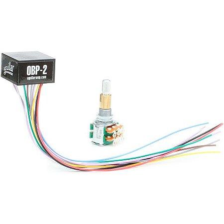 Kit Circuito Aguilar OBP-2SK PRE AMPLIFICADOR P/ CONTRABAIXO
