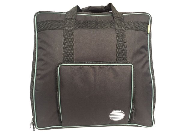 Bag capa acordeon sanfona 80 baixos mochila almofadada luxo