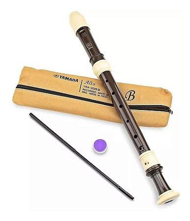 Flauta Contralto Yamaha Barroca YRA-302Biii made in japan
