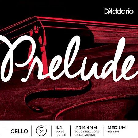 Encordoamento cello Daddario Prelude 4/4 J1010 M violoncelo
