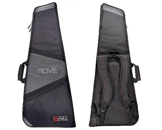 Bag capa soft case guitarra Move reforçado alcochoado