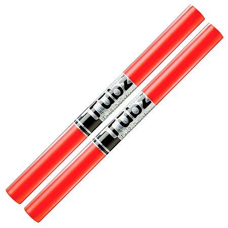 Baqueta Tubos plástico Pro Mark Pm Tubz bateria percussão