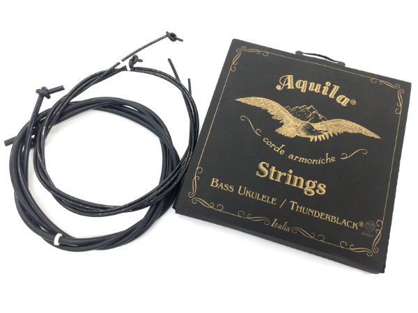 Encordoamento AQUILA ukulele UBASS thunderblack original