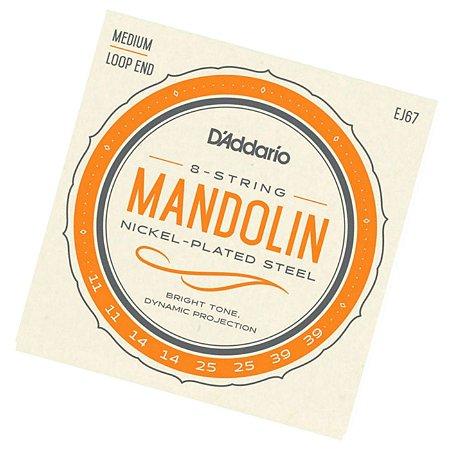 Encordoamento para Bandolim / Mandolin Daddario EJ67 jogo