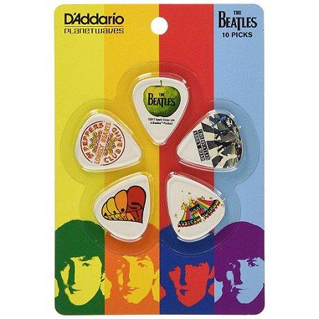 10 palhetas Thin guitarra Beatles serie album 1cwh2 DADDARIO