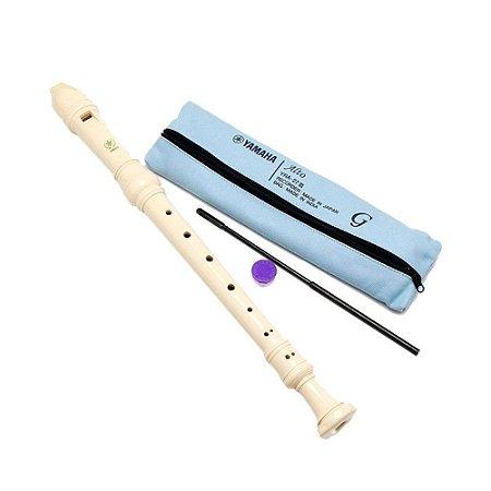 Flauta Contralto Yamaha Germanica YRA27iii Japan recorder