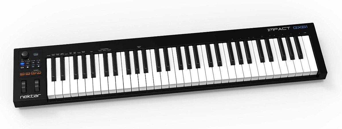 Controlador Nektar GX61 impact teclado Garantia 1 ano com NF