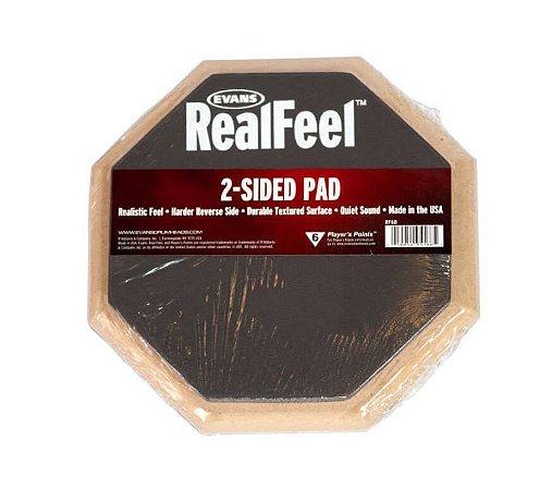 Pad Estudo Evans RealFeel RF06D 6 dupla face com dois lados
