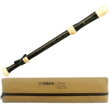 Flauta YAMAHA Tenor Barroca YRT 304 BII serie 300