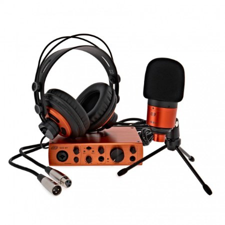 Kit interface gravação microfone fone ESI U22 XT COSMIK USB