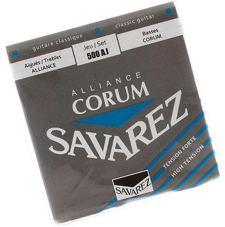 Encordoamento violão nylon Savarez 500AJ Corum Alliance