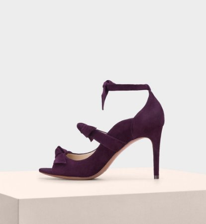 CHARLOTTE SUEDE WINE BERRY