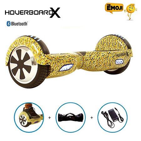 """Hoverboard 6,5"""" Emoji HoverboardX Bluetooth"""
