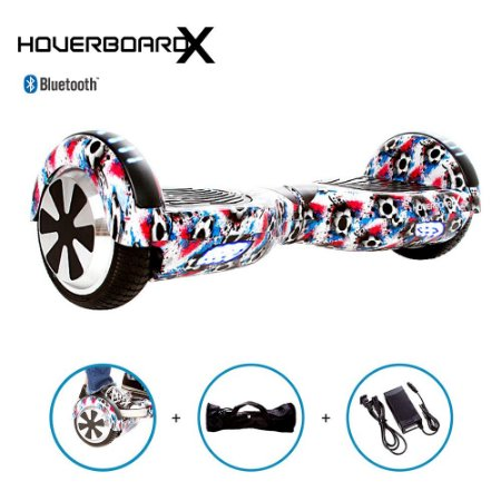 Hoverboard Elétrico 6,5 Bola Futebol HoverboardX Bluetooth