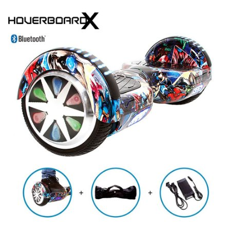 Hoverboard 6,5 Vingadores HoverboardX Bluetooth com Bolsa