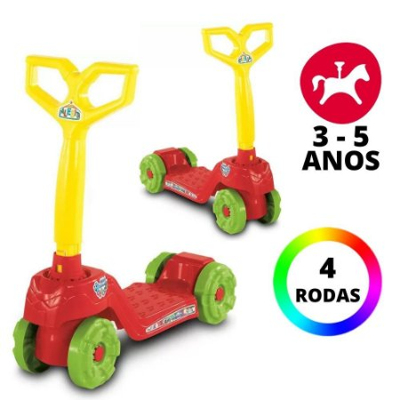 Brinquedo Infantil Super Divertido Mini Scooty Calesita