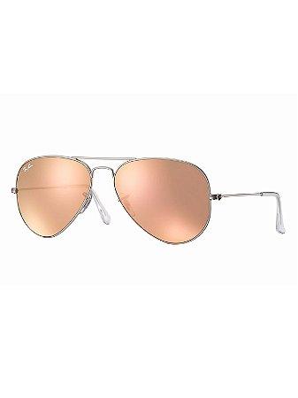 Óculos Ray Ban Aviator Flash Lenses (GR) SPOC