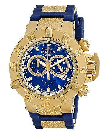 Relógio Invicta Subaqua Collection Gold-Tone