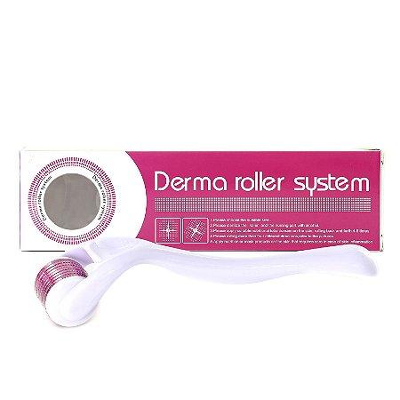 Dermaroller Esfoliador Drs 540 Micro Agulhas 0,25mm até 2,0mm